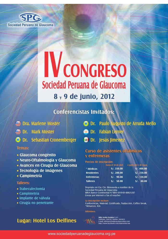 IV Congreso Sociedad Peruana de Glaucoma